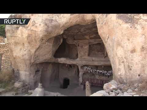 شاهد آخر ظهور لمدينة تاريخية جنوب تركيا قبل غمرها بالمياه