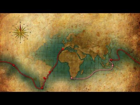 رحلة البرتغالي فرناندو ماجلان حول العالم