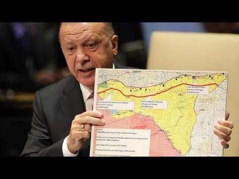 شاهد تركيا بتدأ هجومًا على مناطق سيطرة الأكراد في سورية