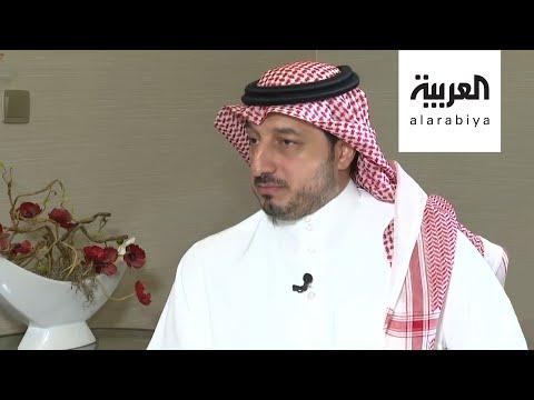 شاهد رئيس الاتحاد السعودي يشبه السويكت برئيس برشلونة