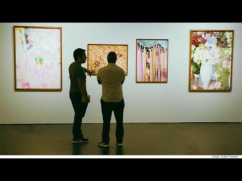 شاهد آرت دبي مكان لتلاقي فنون الغرب والشرق
