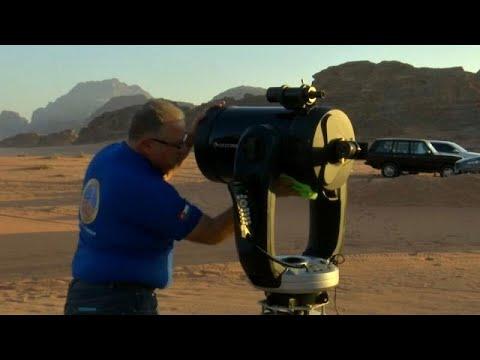شاهد تلسكوب متطور في الأردن يمنحك فرصة للاستمتاع برؤية الكواكب
