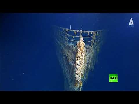 شاهد صور مُذهلة لسفينة تيتانيك من أعماق المحيط