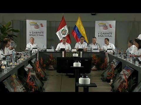 شاهد البيرو وكولومبيا تقترحان عقد قمة إقليمية طارئة بشأن حرائق الأمازون