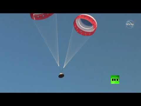 شاهد بوينغ تنجح في اختبار لكبسولة الفضاء غير المأهولة ستارلينر سيإستيؤؤ