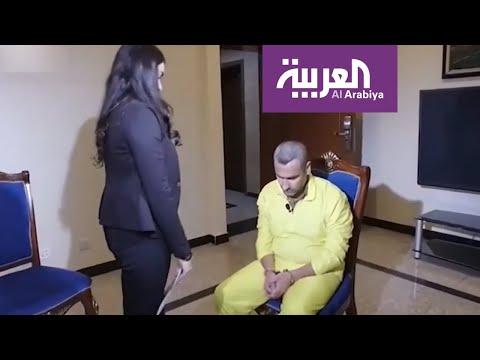 شاهد أشواق الإيزيدية ترفع بيدها رأس مغتصبها الداعشي المنكس لتحقيق أمنيتها