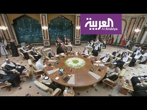 شاهد استعدادات عقد قمة مجلس التعاون الخليجي في العاصمة السعودية