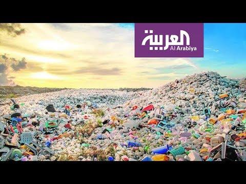 شاهد ابتكار طوب بلاستيكي مصنوع من النفايات الغير قابلة للتدوير