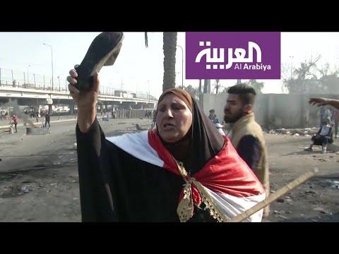 شاهد يوم ملتهب في معظم مدن العراق مع تجدد الاحتجاجات الشعبية