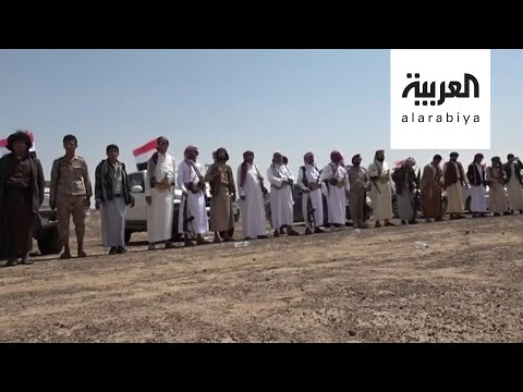 شاهد حشد من أبناء صعدة لإسناد الجيش اليمني ودعمه ضد الحوثي