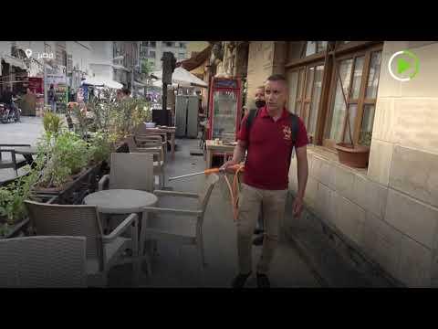 شاهد الحياة تعود لشوارع القاهرة بعد فيروس كورونا