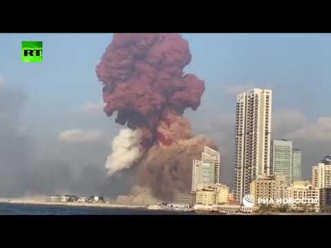 شاهد لقطات جديدة لانفجار مرفأ بيروت الذي هزّ العاصمة اللبنانية