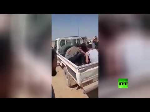 شاهد العثور على 6 مصريين مكبلين بالسلاسل في طبرق الليبية