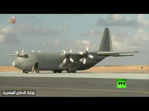شاهد الدفاع المصرية تنشر فيديو لانطلاق التدريب المشترك سيف العرب