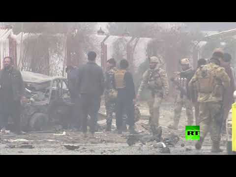 شاهد انفجار قوي يهز العاصمة الأفغانية كابل