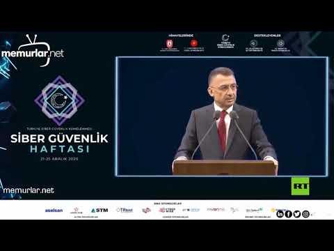شاهد نائب أردوغان يصاب بوعكة صحية خلال إلقاء كلمة مباشرة